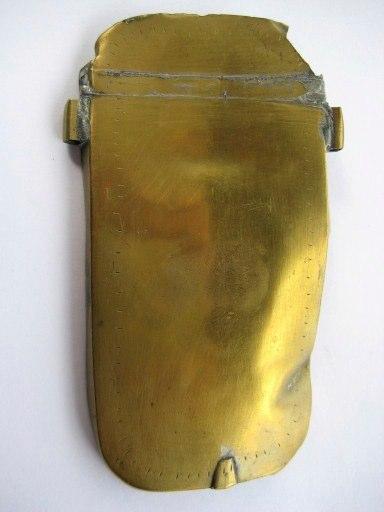 Brass case part - 17th. century