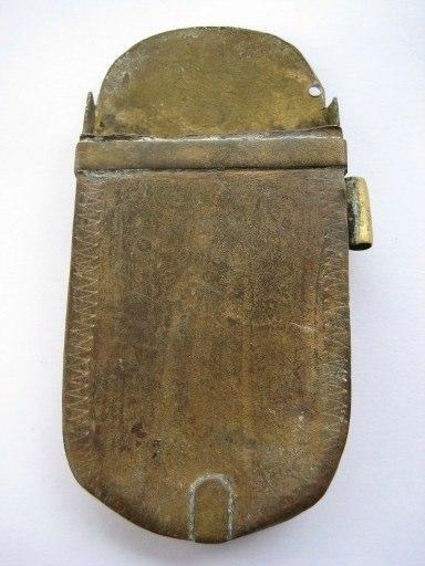 Brass case - 17th. century