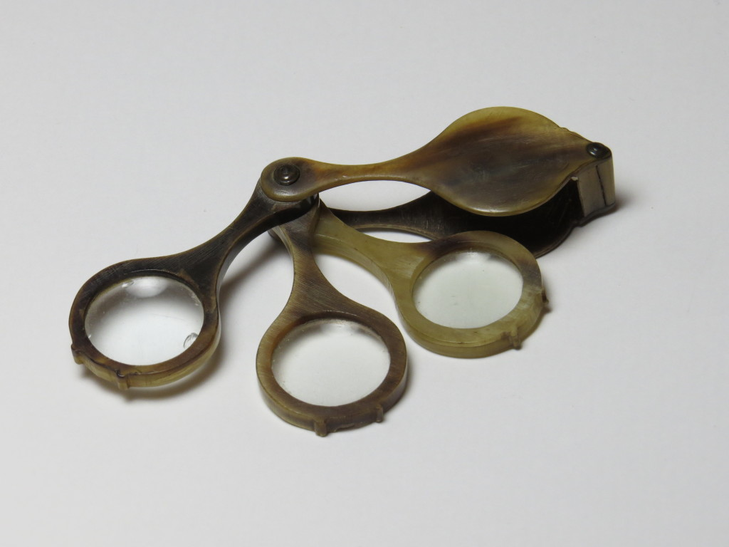 Horn - pocket magnifier