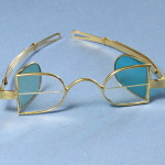 McAllister - Franklin Bifocals - tinted side lenses - Solid Gold