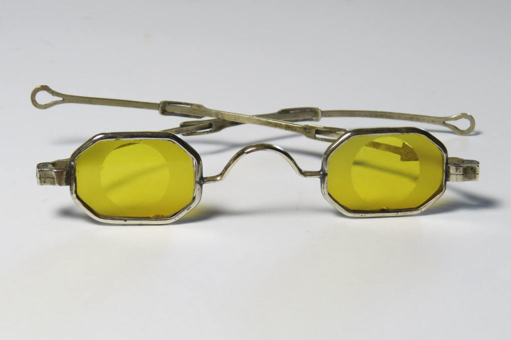 Silver - Octagonal Shooting Spectacles